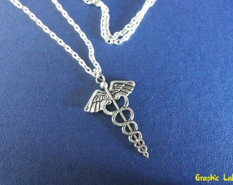 Necklace with the symbol of the god Hermes Hermes Percy Jackson