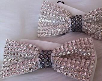Swarovski Bow Tie