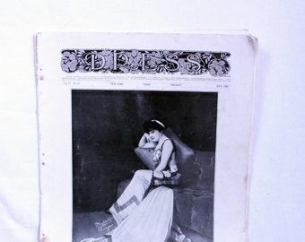 "SALE // Antique 1909 ""Dress"" Magazine, Great Condition- victorian, edwardian, steampunk"