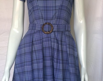 Cotton Fit & Flare dress