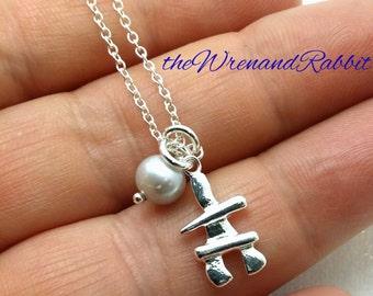 Sterling Inukshuk necklace - genuine sterling silver 925 Inukshuk - stone cairn - Inuit - inukshuk pendant - arctic - Alaska