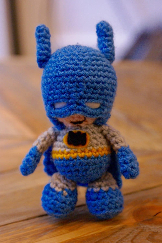 Free Crochet Batman Amigurumi Patterns : PDF Pattern for Crochet Batman Amigurumi