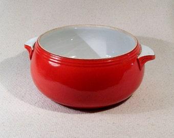 Halls Superior Quality Kitchenware Casserole/Serving Bowl ~ 1940s