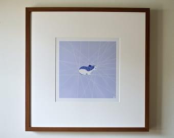 PIKA (geometric photographic print)