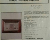 Simply Colonial Sampler Kit, Sampler Kit