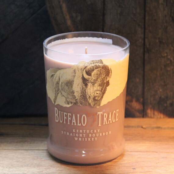 Buffalo Trace Whiskey Candle Gift For Him, Valentine's Gift, Uncle Gift, Perfect Gifts For Guys, Bourbon Gift, Whiskey, Son In Law Gift