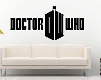 Doctor Who Wall Decal Wall Stickers Large 123 Cm X 58 Cm Part 65