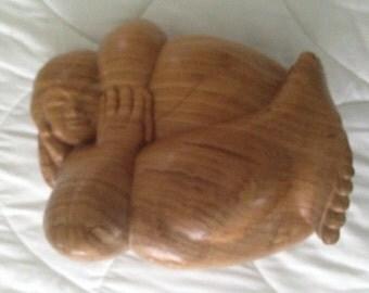 Woman Wood Sculpture