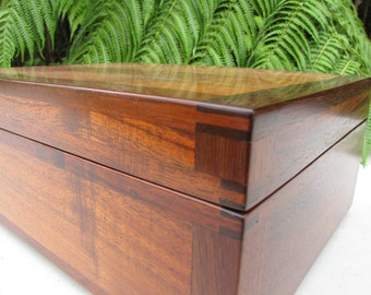 Koa Wood Jewelry Chest