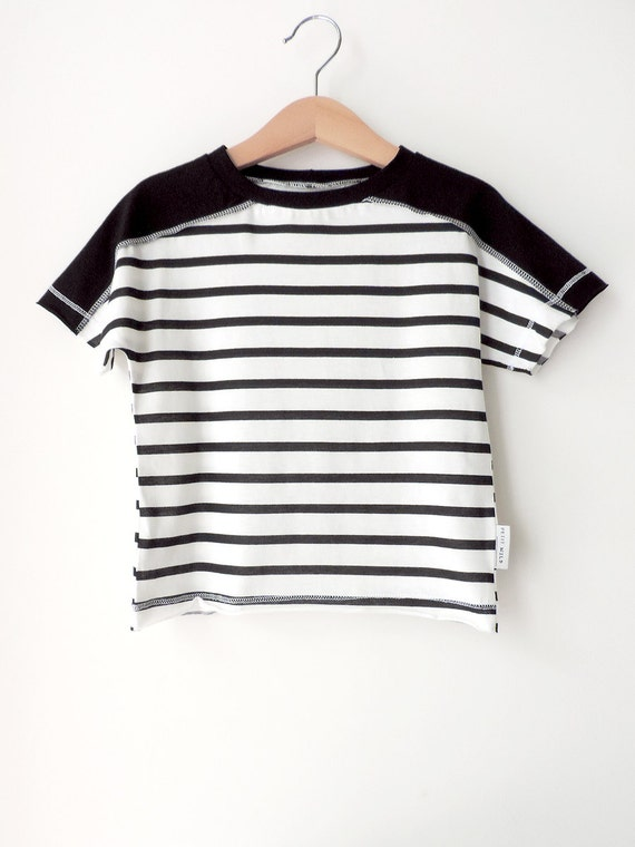 SALE, Toddlers T-Shirt, Boys top, Kids T-shirt, Striped Top, Hipster Toddlers Fashion, Trendy Kids Clothing, Short Sleeves T-Shirt
