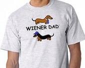 Dachshund Wiener Dad T-Shirt