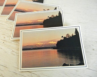 Washington Postcards   Mukilteo   Puget Sound   Pacific Northwest   Cascades   Olympic Mountains   Save the Date Cards
