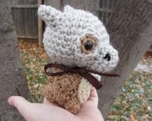 Made to Order - Crochet - Chibi Pokemon Amigurumi - Cubone (with optional bone prop)