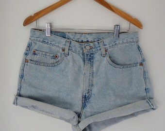 Levis Shorts Vintage Denim