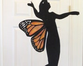 Monarch Butterfly Fairy Mobile
