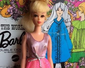 Vintage Barbie Growin' Pretty Hair Francie Doll - HTF Head