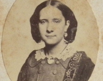 Free Shipping 1860s Gussie Whitimore CDV