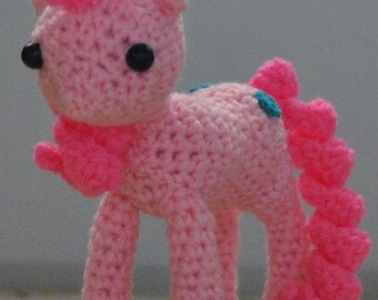 Amigurumi Mini Pony : my little pony amigurumi Etsy