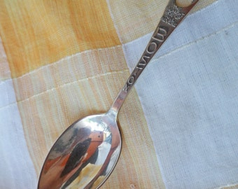 Vintage Sterling Silver Boston PAUL REVERE Midnight Ride Souvenir SPOON