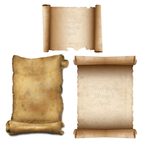Scrolls  3 Book of Shadows Pages