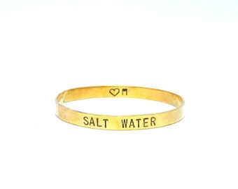 Salt Water Bangle by Heart Majestic/// Special Price this week