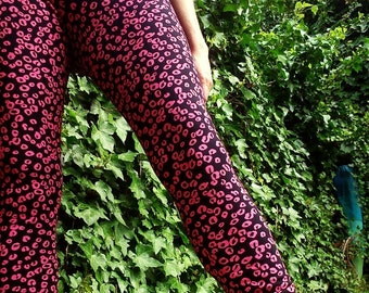 PINK o BLACK leggings
