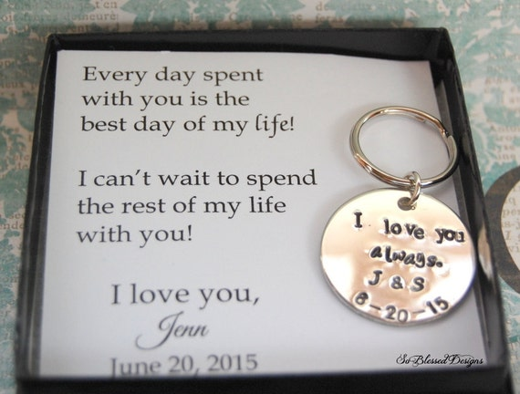 Wedding Day Groom Gift: GROOM Gift From Bride Wedding Day Gift To By SoBlessedDesigns