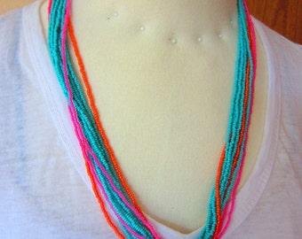 Tri-Colored Necklace