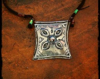 Tuareg Gris Gris Amulet Necklace