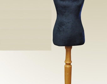 Velvet COVER for Mannequin bust torso dress form