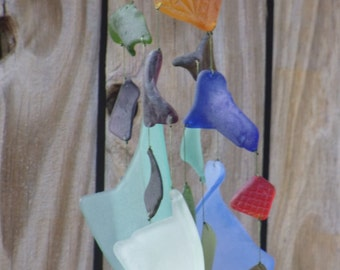 Sea Glass Wind Chime #238