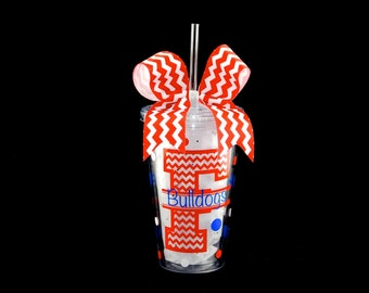 Personalized School/Sports Tumbler Cup