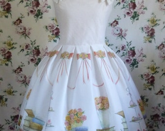 Erato jsk - Classic Lolita dress with pastel book print