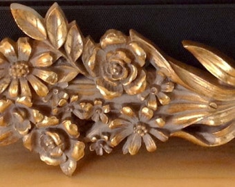 Wall Hanging by Syracuse Ornamental Co., Inc.  Art Nouveau styling.
