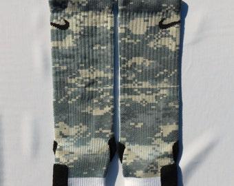 Digital Camo Nike Elite socks