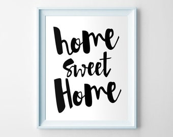 Home Sweet Home Vintage home sweet home established/rustic painted established