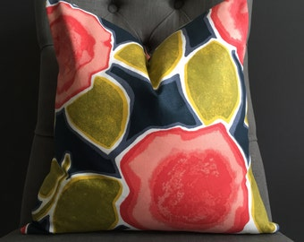 Pillow Cover, Floral Pillow Cover, IRIS
