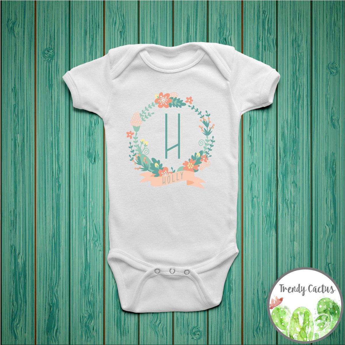 Custom Baby Girl Onesie Baby Girl Coming Home Outfit Custom