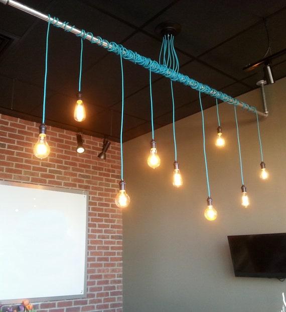 9 Pendant Light Wrap A Pipe Or Bar Modern By HangoutLighting