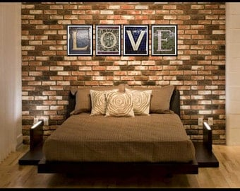 NY Subway Tile Mosaic Hi Def Letter Photo - 8X10 - over 220 to choose from