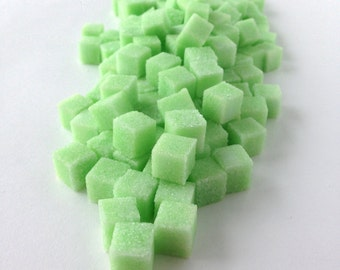 Mint Flavored Sugar Cubes for Tea, Bridal Parties, Garden Parties, Weddings