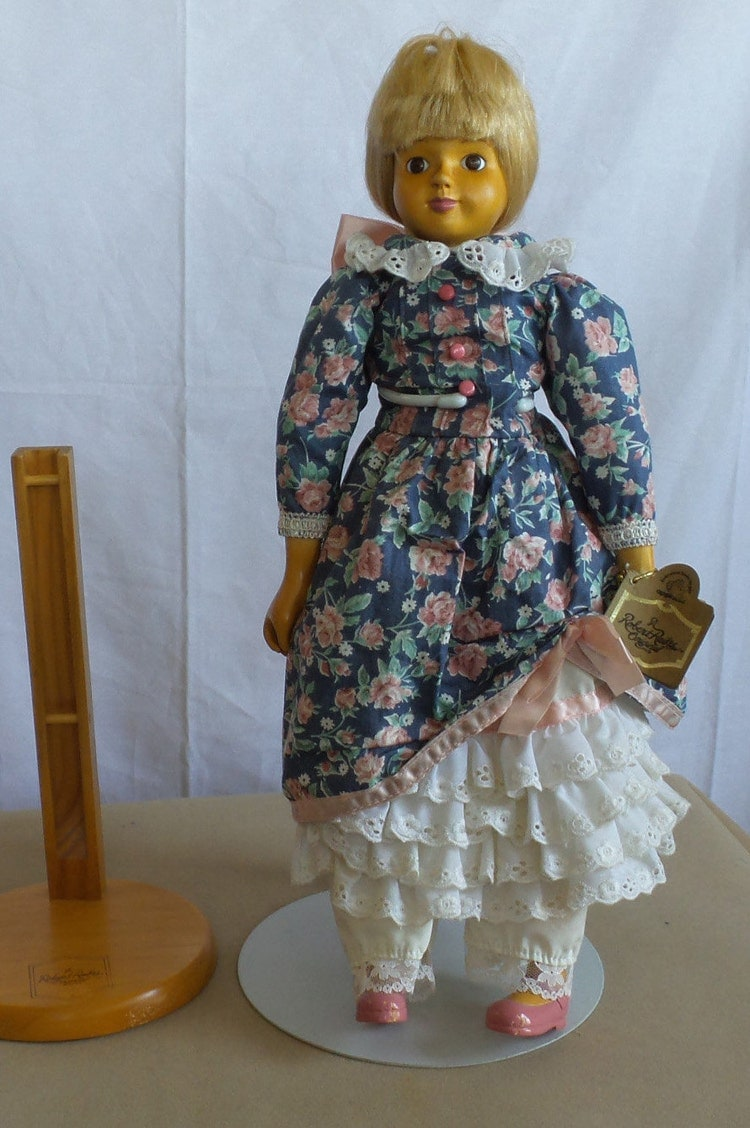 Carved wood doll claire by robert raikes atticsnoops on