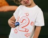 2T, Race Car Birthday Shirt for Boys, 2 Year Old Birthday Shirt, Toddler Boy Car Shirt, Car Party, Birthday Boy, Kids Car Shirt