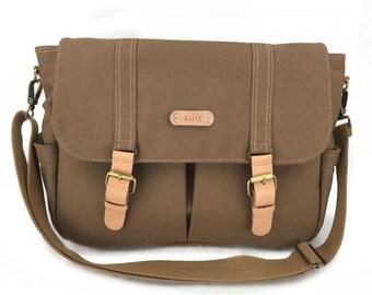 canvas messenger bag,gift for men,laptop bag,personalized mens,school bag,canvas diaper bag,monogram messenger bag,,cross body bag