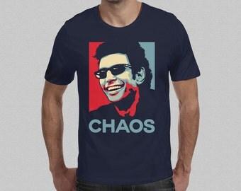 Jurassic Park Ian Malcolm T-Shirt - Chaos Theory Jeff Goldblum Jurassic World Mens T-Shirt S M L XL XXL
