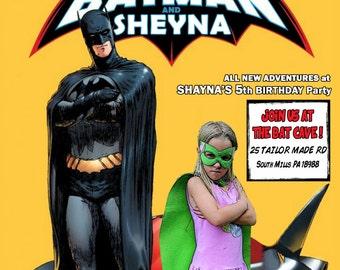 Batman Party Invitation digital file