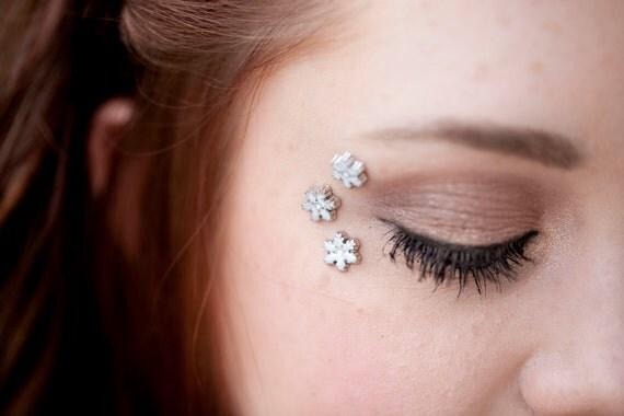 Snowflake Eye Decals