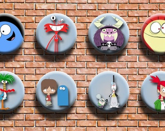 Foster's Home For Imaginary Friends 1.25 Inch Button Eight Pack