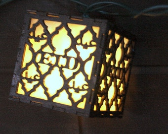 Ramadan and Eid String Lights for Islamic Decoration