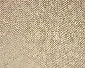 20% OFF SALE! 32-count Creme Brulee Linen 32ct R&R Reproductions Linen Fat Quarter FAB-067